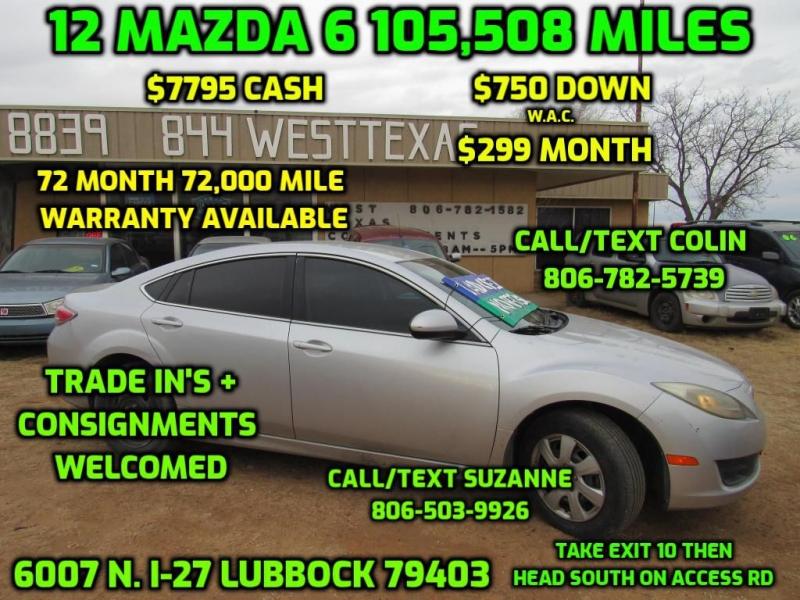 MAZDA 6 2012 price $7,795