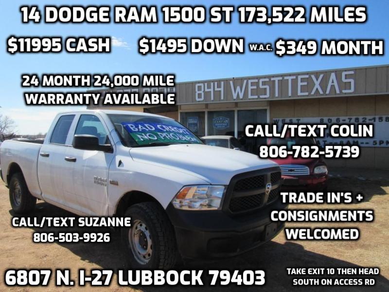 DODGE RAM 1500 2014 price $11,995