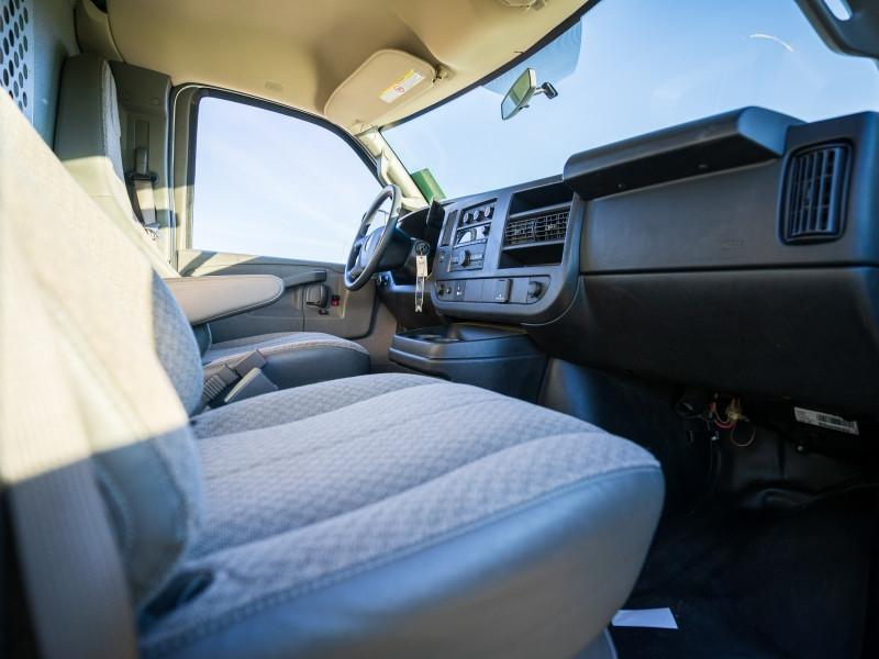 2017 Gmc Savana Cargo Van Wt Power Windows White Rock