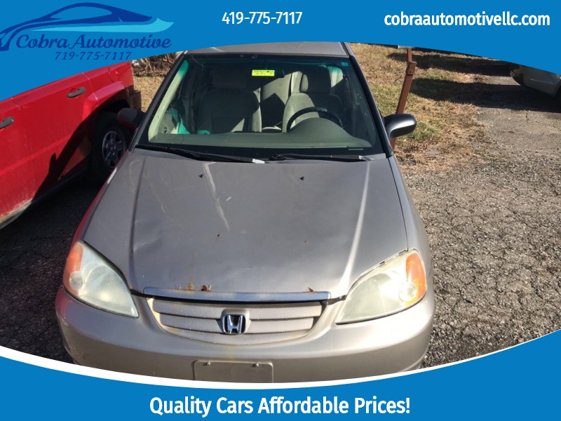HONDA CIVIC 2001 price Call for Pricing.