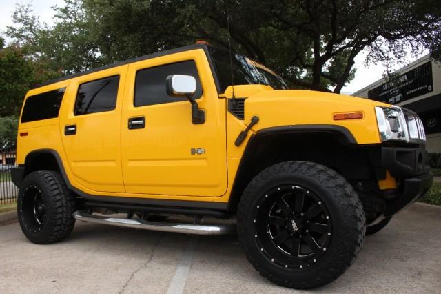 2005 Hummer H2 Yellow/Black