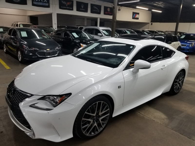 Lexus RC 350 F Sport 2016 price $24,999 Cash