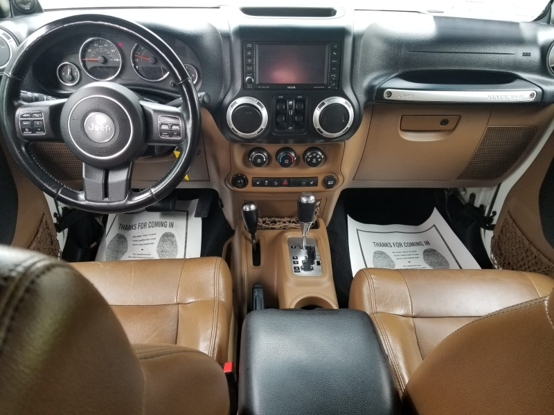 Jeep Wrangler Unlimited 2012 price $31,999 Cash