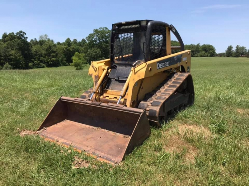 JOHN DEERE CT322 TRACK 2008 price $23,999