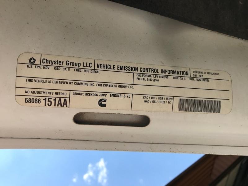 DODGE RAM 3500 2011 price $16,499