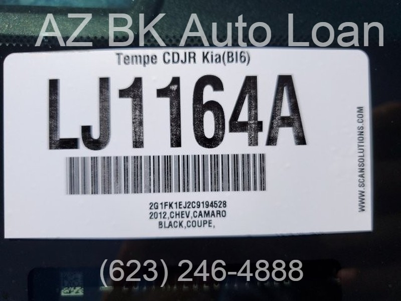 Chevrolet Camaro 2012 price $20,000