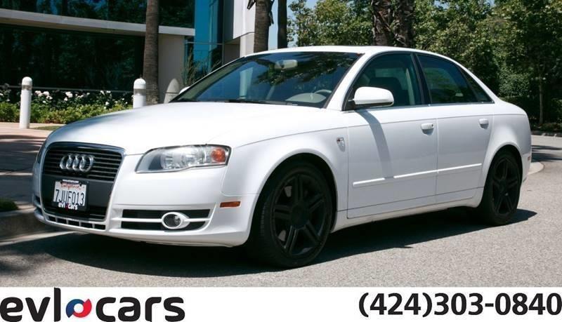 Audi A4 2007 White