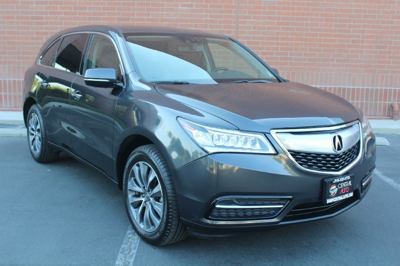 2014 Acura MDX Tech/Entertaint Pkg - CENTRAL AUTO INC| Auto ...