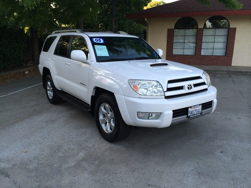 2005 Toyota 4runner Sr5 V6 White Gray Low Miles Sport Edition Immaculate Central Auto Inc