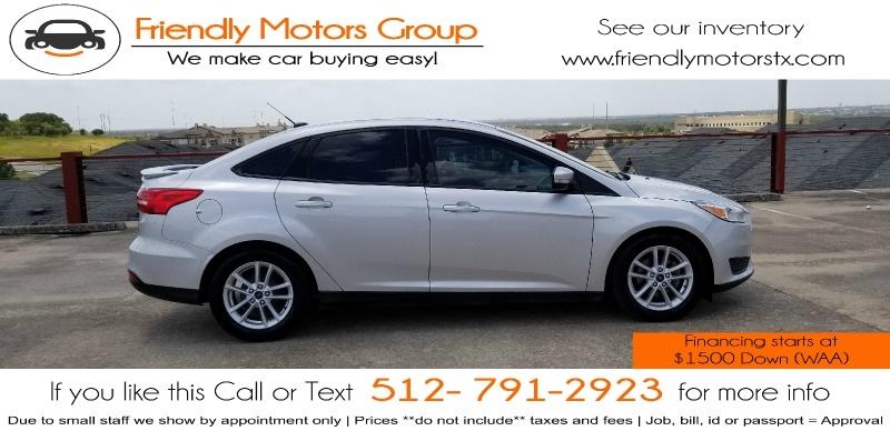 Ford Focus 2017 price $7,950 Cash