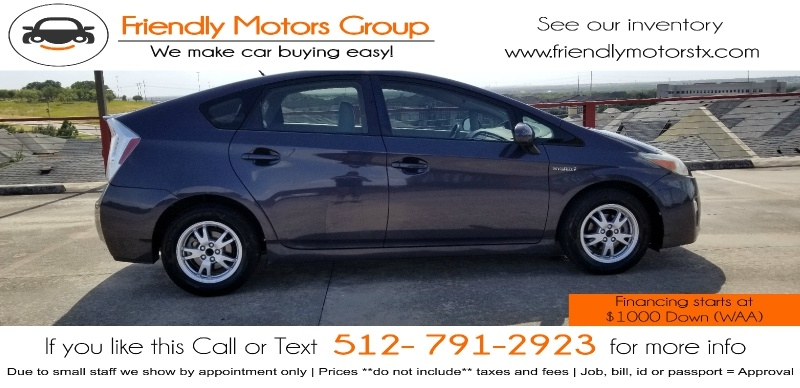 Toyota Prius 2011 price $6,750 Cash