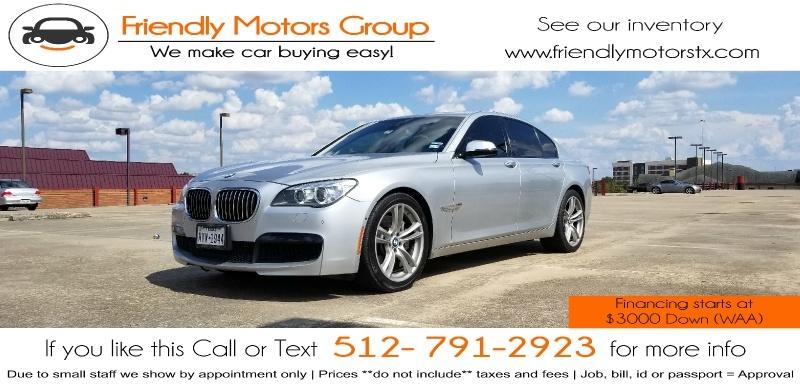 BMW 7-Series 2013 price $27,995 Cash