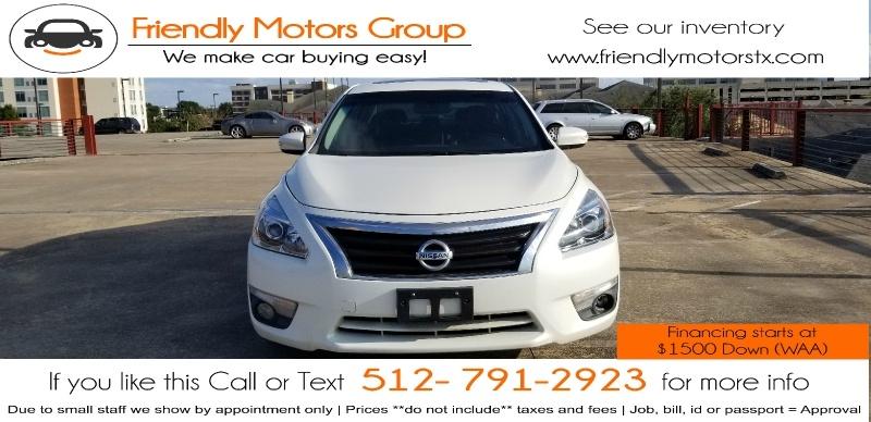 Nissan Altima 2014 price $8,450 Cash