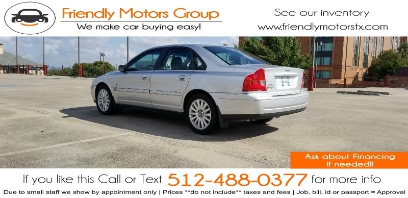 Volvo S80 2006 price $4,250 Cash