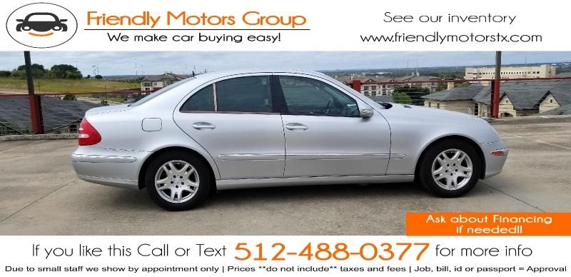 Mercedes-Benz E-Class 2005 price $5,450