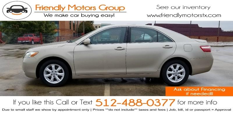 Toyota Camry 2009 price $5,450