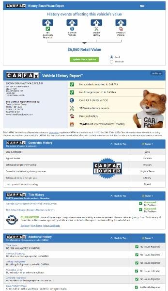Nissan Altima 2009 price $5,950