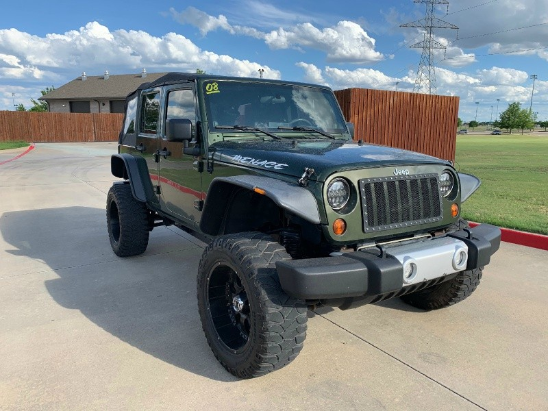 Jeep Wrangler 2008 price $19,500