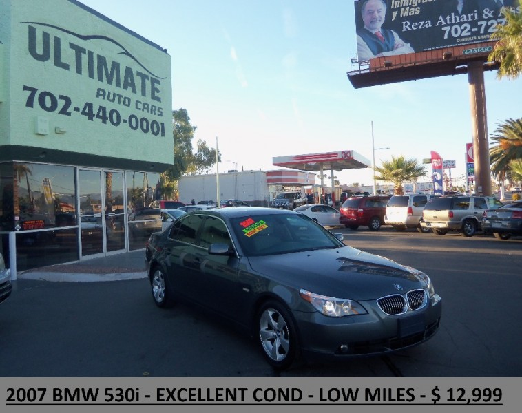 BMW I CLEAN TITLE LOW MILES EXCELLENT CONDITION - 2007 bmw 528i
