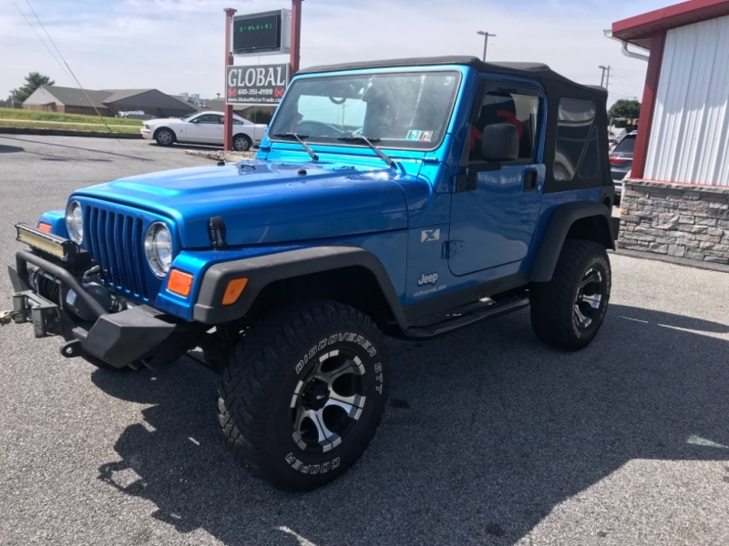 Jeep Wrangler 2003 price $9,800