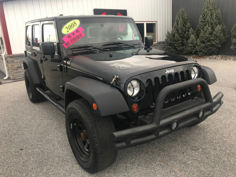 Jeep Wrangler 2008 price $13,700