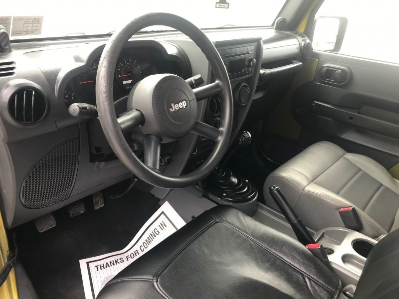 Jeep Wrangler 2008 price $12,800