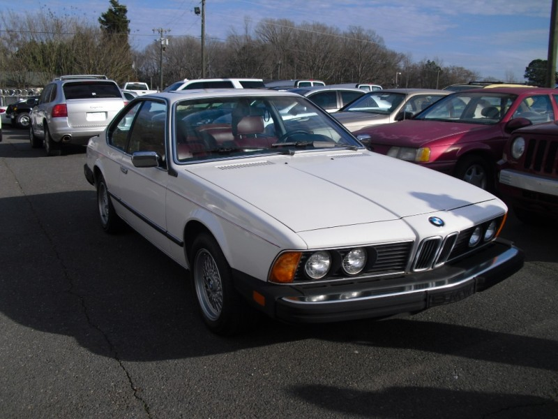 BMW 633 csi automatic 1984 price $6,400