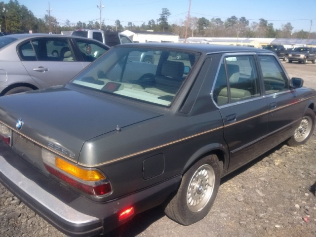 1986 BMW 5-Series