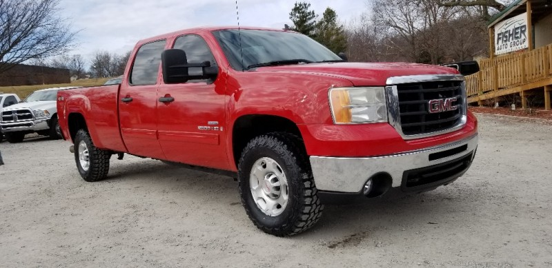 2008 GMC Sierra 2500HD Crew Cab 4x4 Long Bed SLT DMAX CLEAN! - Inventory | fisher auto group ...