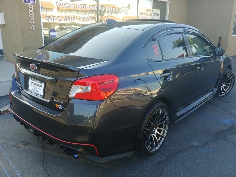Subaru WRX 2017 price $16,999