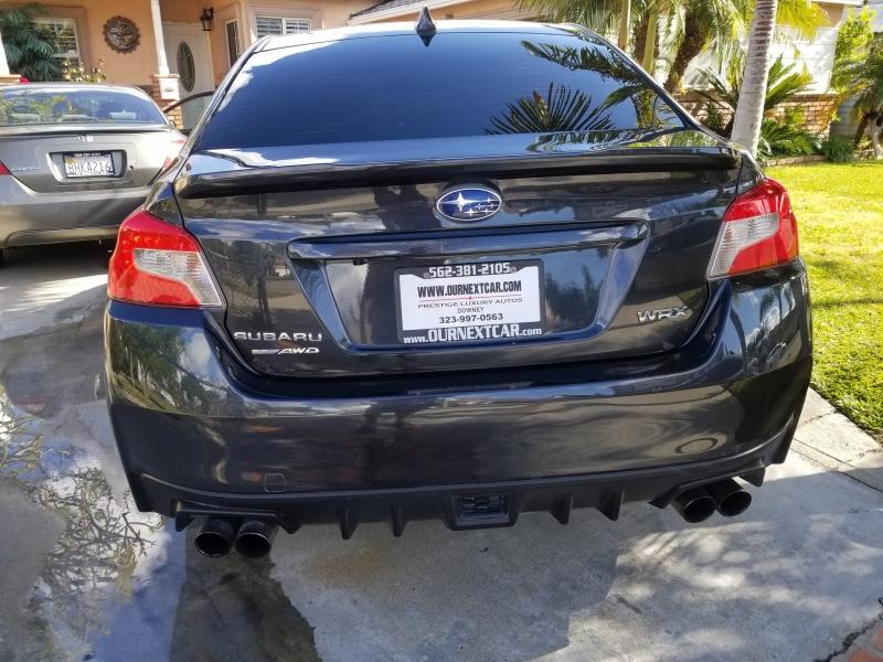 Subaru WRX 2016 price $16,999
