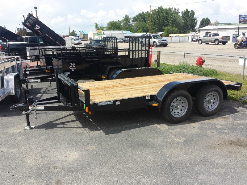C&B 12' Flatbed 2020 price Call