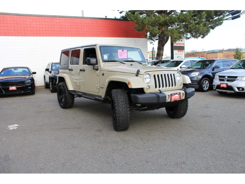 Jeep Wrangler JK Unlimited 2018 price $36,889