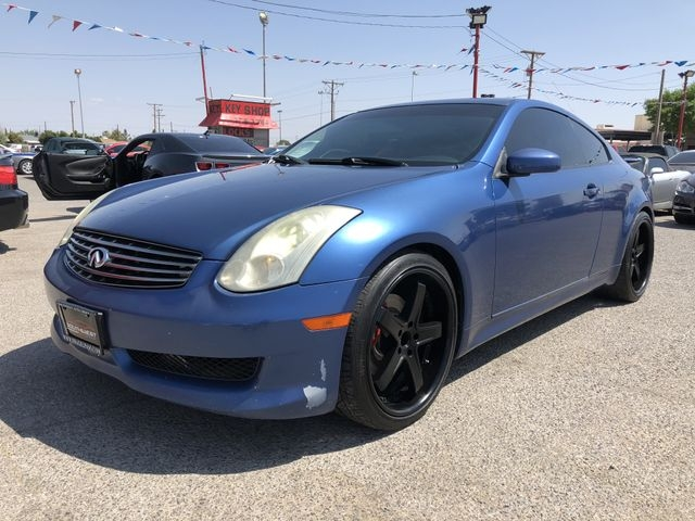 2006 Infiniti G35 Coupe 2dr Cpe