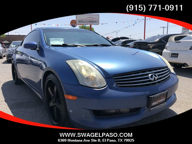 2006 INFINITI G35 Coupe 2dr Cpe - Inventory | SOUTHWEST ...