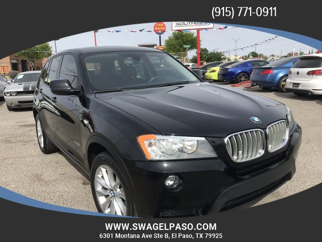 Dodge Dealership El Paso >> 2014 BMW X3 AWD 4dr xDrive28i - Inventory | SOUTHWEST AUTO ...