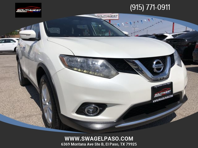 2015 nissan rogue awd 4dr sv inventory southwest auto group of el paso auto dealership in. Black Bedroom Furniture Sets. Home Design Ideas