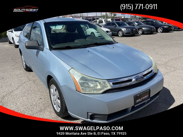 2008 Ford Focus S Coupe 2D