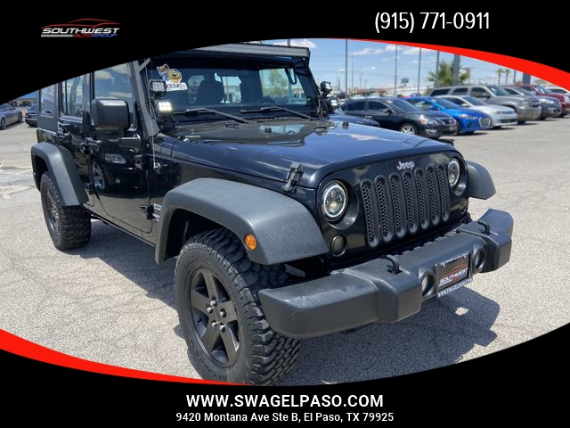 2013 Jeep Wrangler Unlimited Sport Suv 4d Southwest Auto Group Of