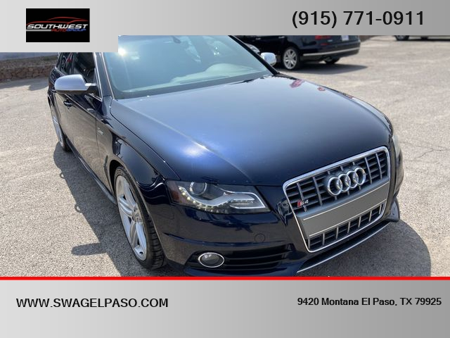 2011 Audi S4 3.0T quattro Premium Plus Sedan AWD