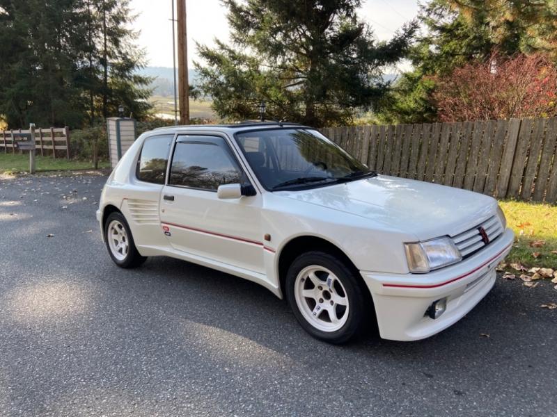 Peugeot 205 GTI Dimma widebody 1989 price $11,995