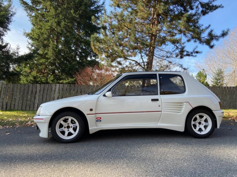Peugeot 205 GTI Dimma widebody 1989 price $10,995