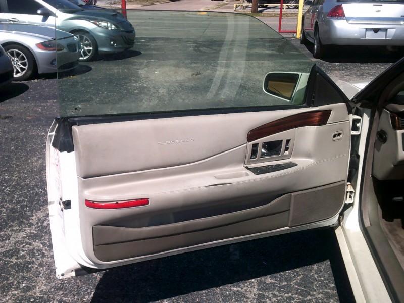 Cadillac Eldorado 1996 price $2,000