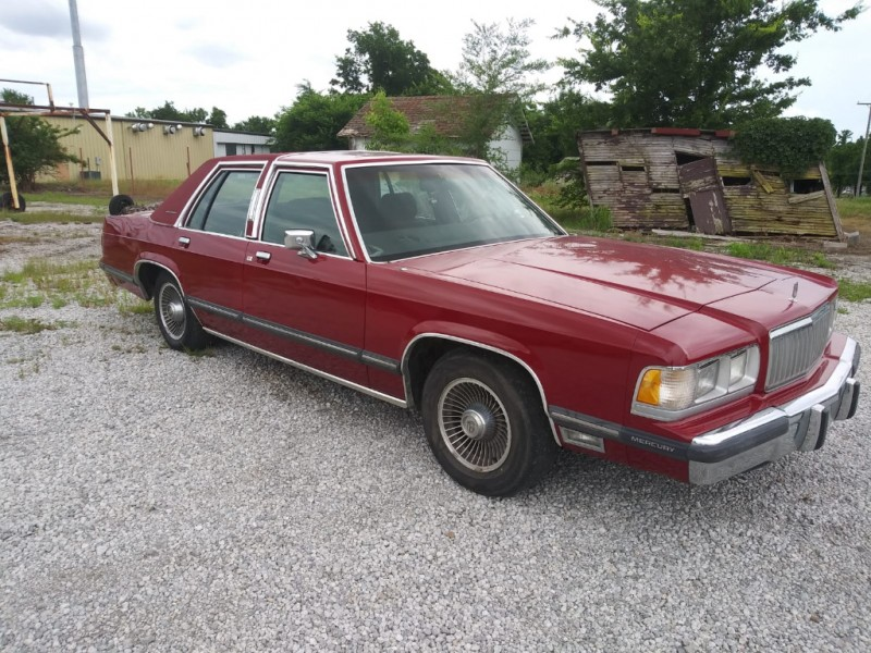 Mercury Grand Marquis 1989 price $3,000