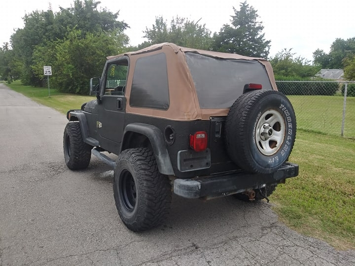 Jeep Wrangler 1997 price $5,000