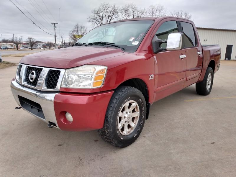 Nissan Titan 2004 price $5,000