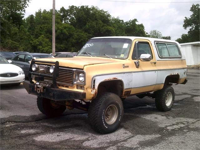 Chevy K-5 1978 price $2,500