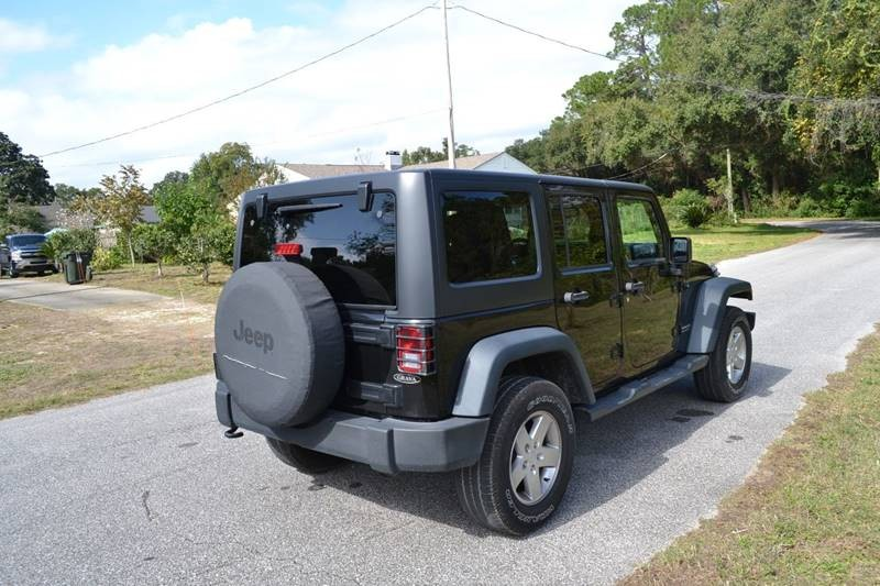 Jeep Wrangler Unlimited 2015 price $22,725