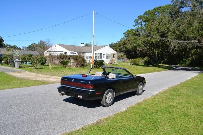 Chrysler Le Baron 1991 price $4,865