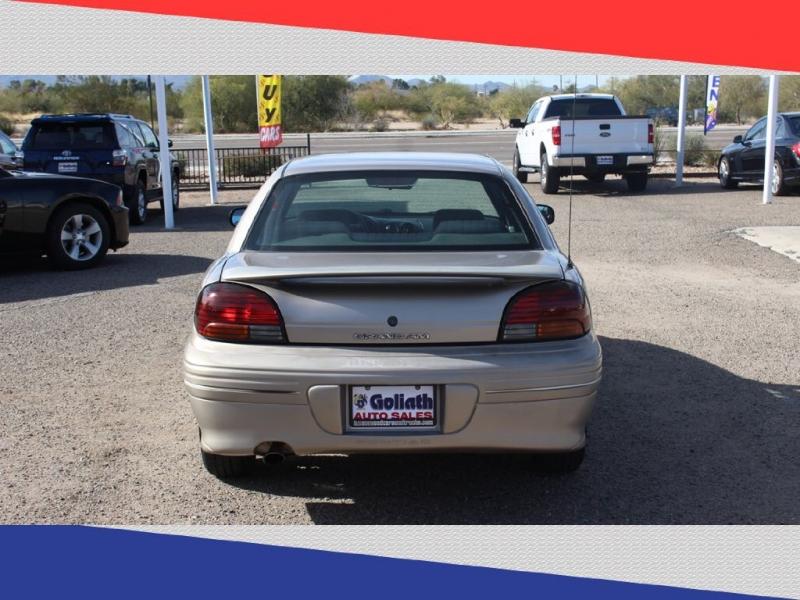 PONTIAC GRAND AM 1998 price $2,999